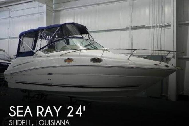 2007 Sea Ray 240 Sundancer with Trailer - For Sale at Slidell, LA 70458 - ID 35257