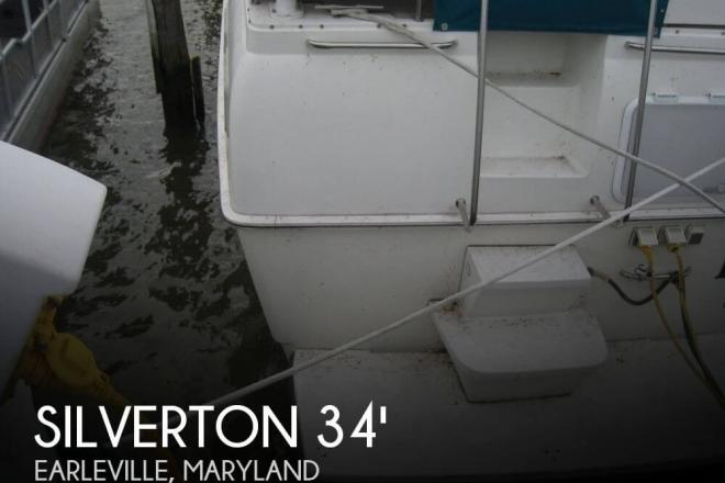 1996 Silverton 34 Aft Cabin Motoryacht - For Sale at Earleville, MD 21919 - ID 73033