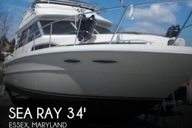 1984 Sea Ray 340 Convertible - For Sale at Essex, MD 21221 - ID 34627