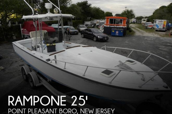 1979 Rampone 25 Sport Fisherman - For Sale at Point Pleasant Boro, NJ 8742 - ID 34582