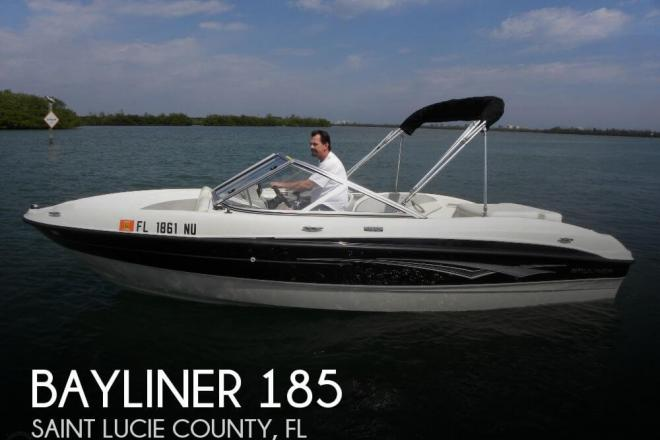2009 Bayliner 185 - For Sale at Fort Pierce, FL 34954 - ID 44635