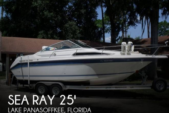 1989 Sea Ray 250 Sundancer - For Sale at Lake Panasoffkee, FL 33538 - ID 33831