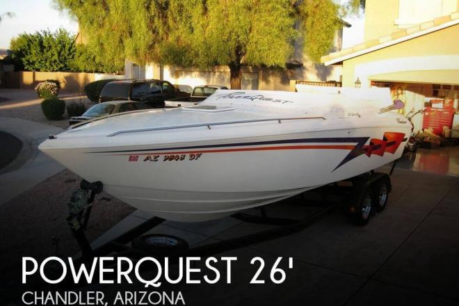 2002 Powerquest 260 Legend SX - For Sale at San Tan Valley, AZ 85140 - ID 33573
