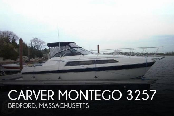 1987 Carver Montego 3257 - For Sale at Bedford, MA 1730 - ID 33422