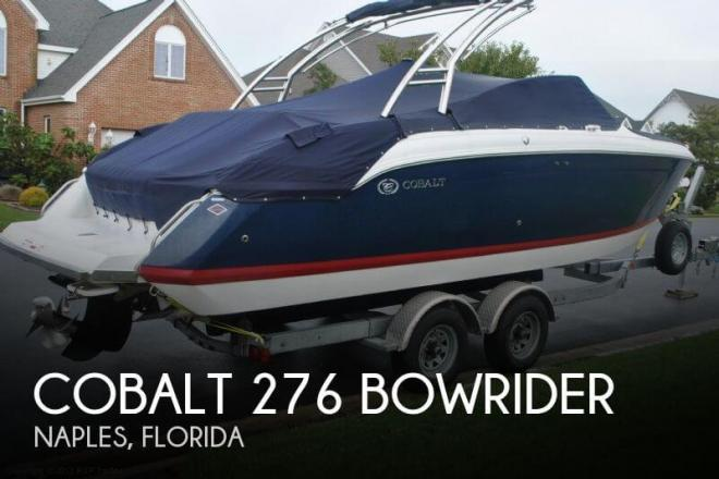 2009 Cobalt 276 Bowrider - For Sale at Naples, FL 34101 - ID 33405