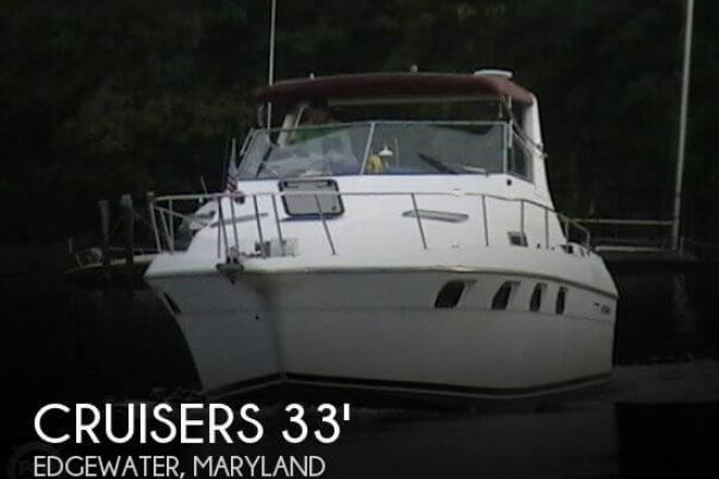 1991 Cruisers 3370 Esprit - For Sale at Edgewater, MD 21037 - ID 32960