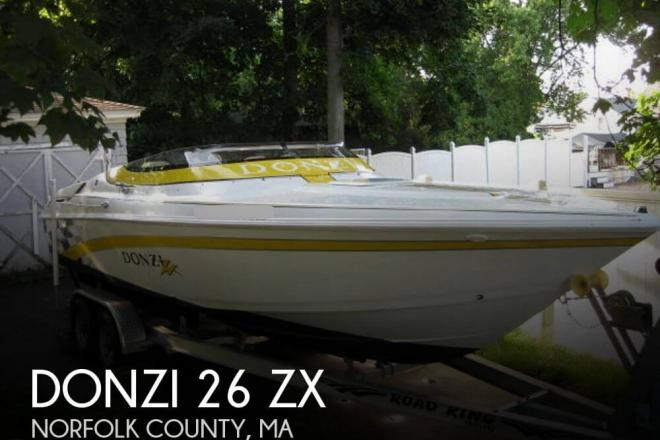 2001 Donzi 26 ZX - For Sale at Stoughton, MA 2072 - ID 32847