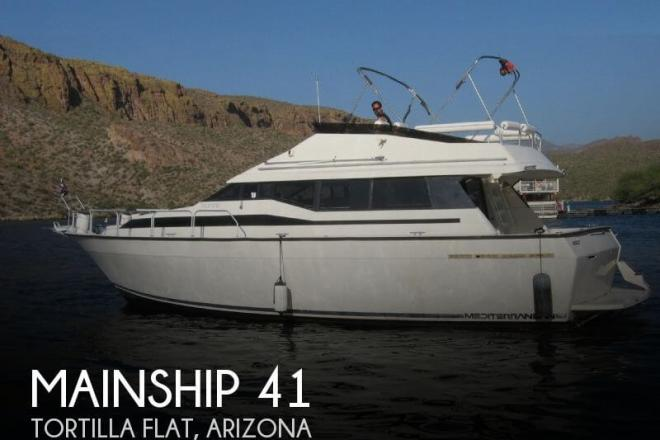 1990 Mainship Double Cabin 41 - For Sale at Tortilla Flat, AZ 85190 - ID 32677