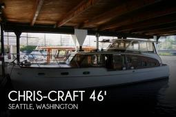 1949 Chris Craft 46 Double Cabin Flybridge