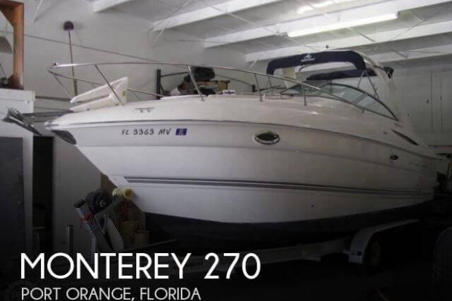 2005 Monterey 270 - For Sale at Port Orange, FL 32123 - ID 40964