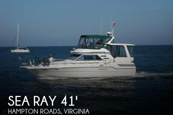 1987 Sea Ray 410 Aft Cabin - For Sale at Hampton, VA 23665 - ID 32159