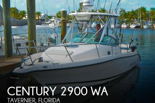 2001 Century 2900 WA - For Sale at Tavernier, FL 33070 - ID 32056