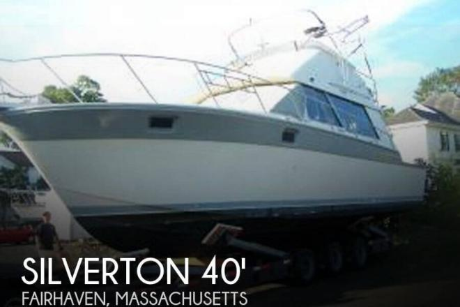 1986 Silverton 40 Convertible - For Sale at Lakeville, MA 2347 - ID 31986