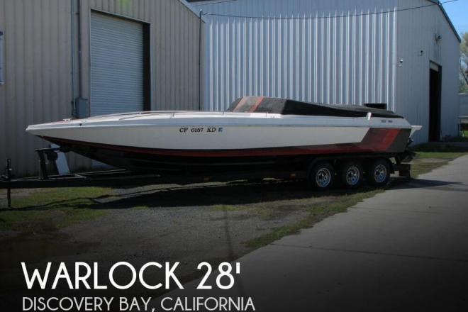 1990 Warlock 28 High Performance - For Sale at Discovery Bay, CA 94505 - ID 31982