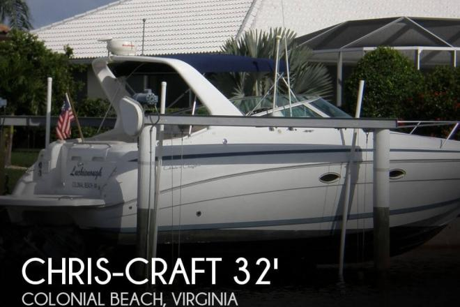 2000 Chris Craft 328 Express Cruiser - For Sale at Colonial Beach, VA 22443 - ID 31875