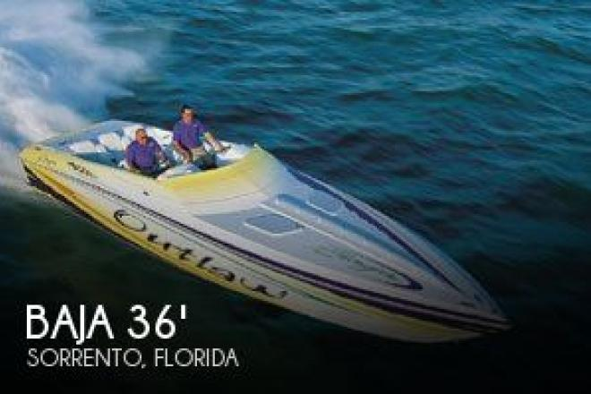 2001 Baja 36 Outlaw Poker Run Edition - For Sale at Sorrento, FL 32776 - ID 31807