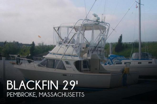 1986 Blackfin 29 Flybridge Convertible - For Sale at Pembroke, MA 2359 - ID 31597