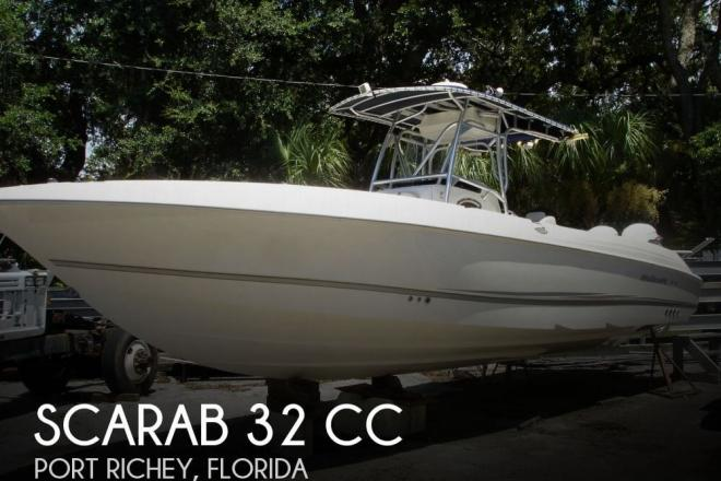 2002 Scarab 32 CC - For Sale at Port Richey, FL 34668 - ID 31564