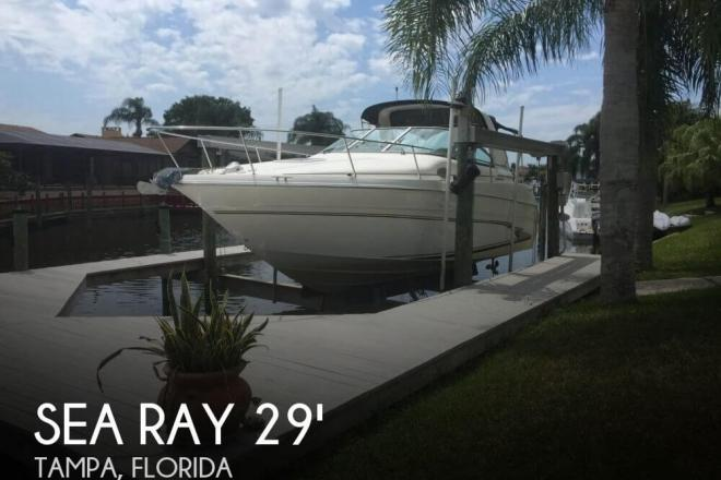 1998 Sea Ray 290 Sundancer - For Sale at Tampa, FL 33601 - ID 31461