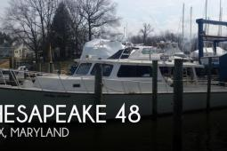 2001 Chesapeake 48