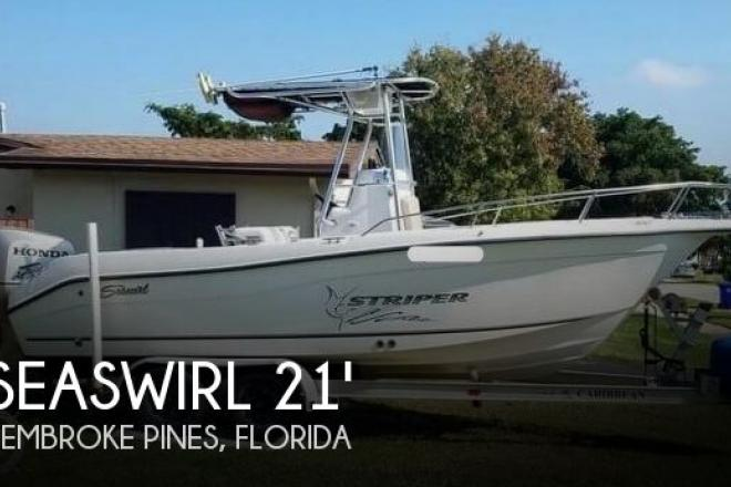 2003 Seaswirl Striper 2101 CC - For Sale at Davie, FL 33331 - ID 111129