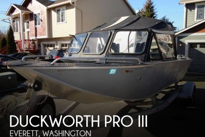 1994 Duckworth Pro III - For Sale at Everett, WA 98201 - ID 110592