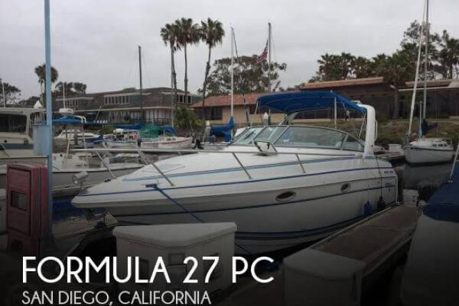 1996 Formula 27 PC - For Sale at San Diego, CA 92101 - ID 110557