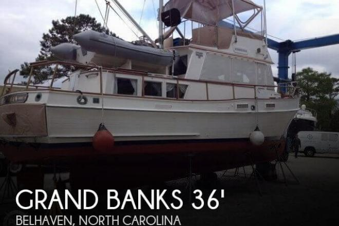 1977 Grand Banks 36 Classic - For Sale at Belhaven, NC 27810 - ID 110941