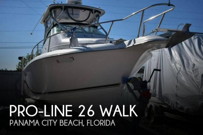 2004 Pro Line 26 Walk - For Sale at Panama City Beach, FL 32407 - ID 110458