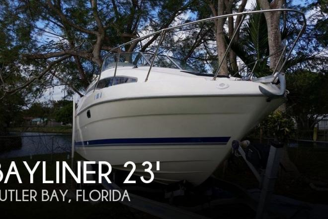 1994 Bayliner 2355 Ciera Sunbridge - For Sale at Cutler Bay, FL 33189 - ID 110480
