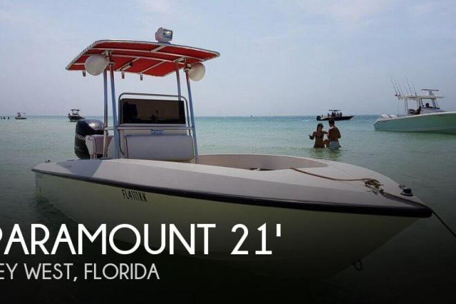 1999 Paramount 21 Super Fisherman - For Sale at Key West, FL 33040 - ID 110462