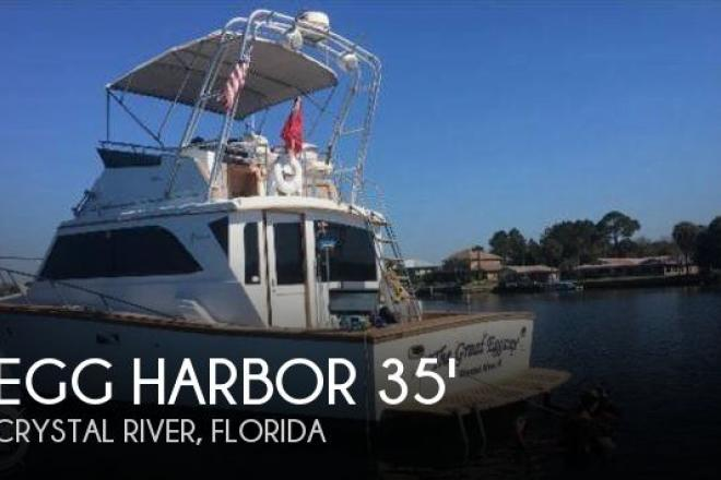 1984 Egg Harbor 35 Sport fish - For Sale at Crystal River, FL 34423 - ID 109987