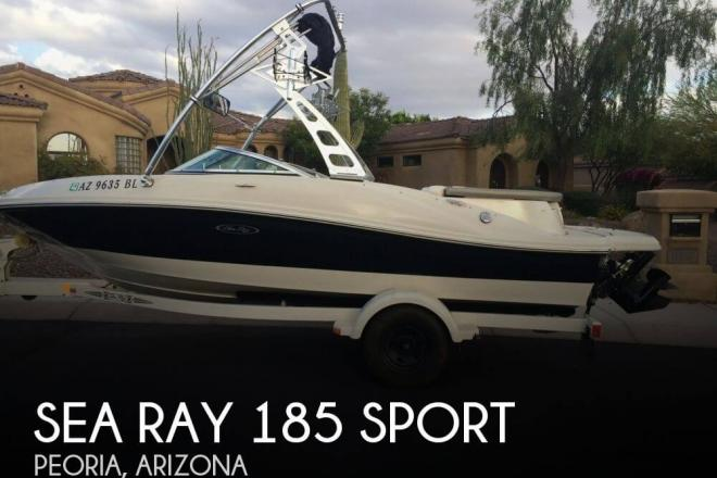 2007 Sea Ray 185 Sport - For Sale at Peoria, AZ 85345 - ID 109703