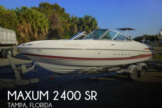 2004 Maxum 2200 SR - For Sale at Tampa, FL 33601 - ID 109876