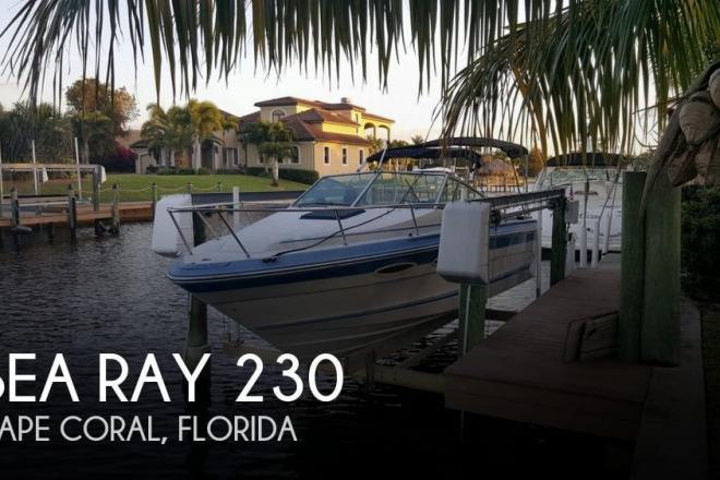 1988 Sea Ray 230 - For Sale at Cape Coral, FL 33990 - ID 109621