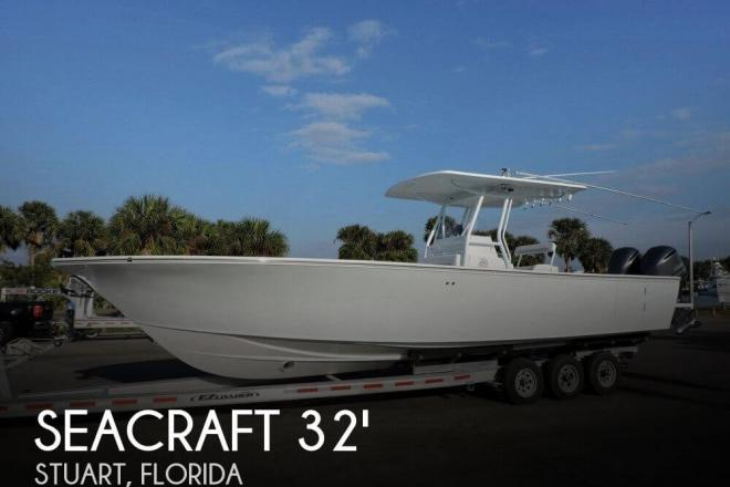2000 Sea Craft 32 Master Angler - For Sale at Stuart, FL 34994 - ID 111198