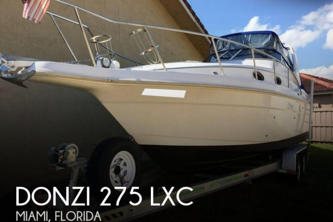 1996 Donzi 275 LXC - For Sale at Miami, FL 33177 - ID 110775