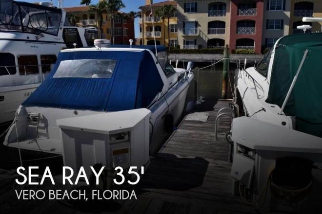 1990 Sea Ray 350 Sundancer - For Sale at Vero Beach, FL 32960 - ID 110097