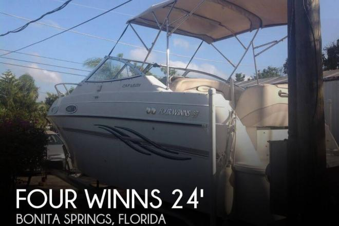 1999 Four Winns 238 Vista - For Sale at Bonita Springs, FL 34135 - ID 106040