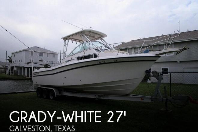 1998 Grady White 272 SAILFISH - For Sale at Jamaica Beach, TX 77554 - ID 111104