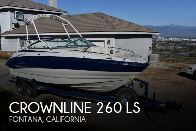 2006 Crownline 260 LS - For Sale at Rancho Cucamonga, CA 91701 - ID 109603