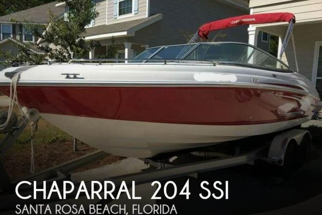2008 Chaparral 204 SSi - For Sale at Santa Rosa Beach, FL 32459 - ID 109775