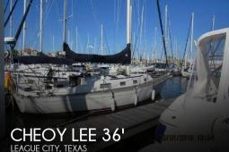 1987 Cheoy Lee Pedrick 36