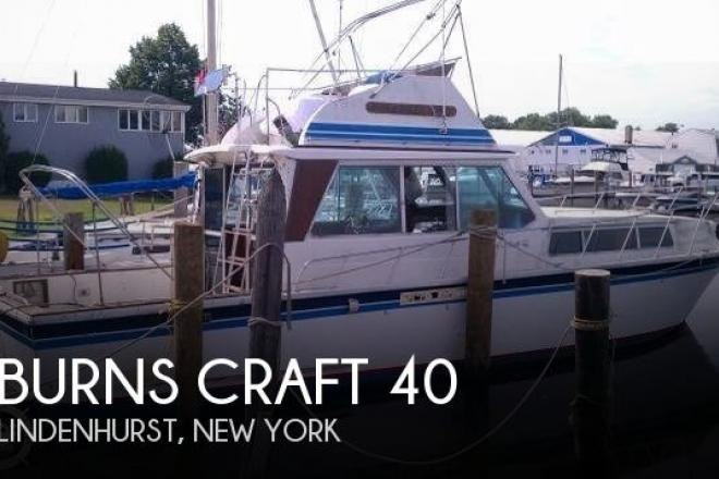 1980 Burns Craft 40 - For Sale at Lindenhurst, NY 11757 - ID 105082