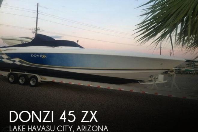 2001 Donzi 45 ZX - For Sale at Lake Havasu City, AZ 86403 - ID 104742