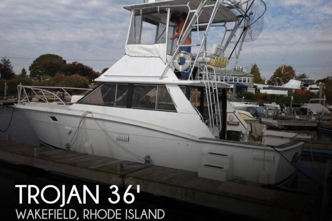 1978 Trojan F36 Flybridge - For Sale at Portland, CT 6480 - ID 104444