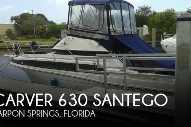 1991 Carver 630 Santego - For Sale at Tarpon Springs, FL 34688 - ID 104699
