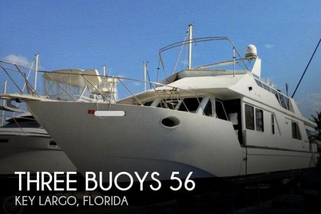 1988 Three Buoys 56 - For Sale at Key Largo, FL 33037 - ID 110948
