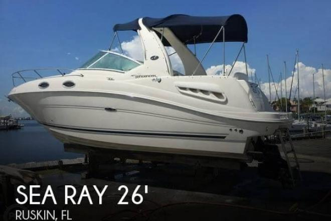 2006 Sea Ray 260 Sundancer - For Sale at Apollo Beach, FL 33572 - ID 109777