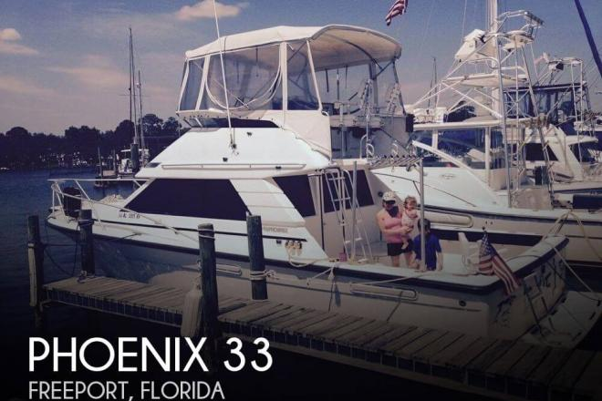 1995 Phoenix 35 Sportfish - For Sale at Freeport, FL 32439 - ID 104115